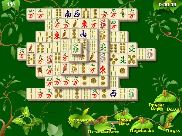 Сады маджонга